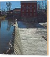 Bridgeton Mill Wood Print