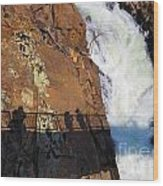 Bridging The Chasm 03 Wood Print