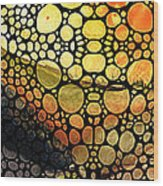 Bridging The Gap - Stone Rock'd Art Print Wood Print