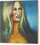 Bridgit Bardot Wood Print