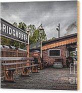Bridgnorth Railway Station Wood Print