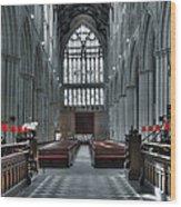 Bridlington Abbey Wood Print