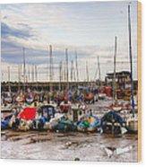 Bridlington Harbour Wood Print