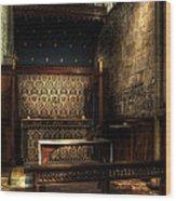 Bridlington Priory Wood Print
