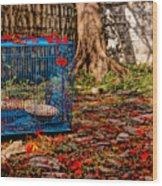 Brid's Cage Wood Print