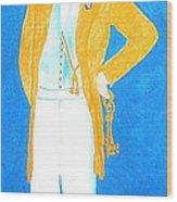 Brigham Young Held The Keys Wood Print