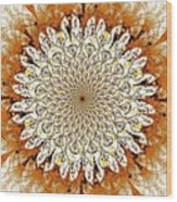 Bright Flower Wood Print