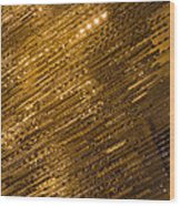 Brilliant Gold And Gems And Jewels Wood Print