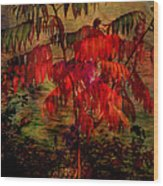 Brilliant Sumac Wood Print