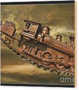 Bringhurst Special Train Wood Print