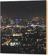 Brisbane Nights I Wood Print