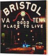 Bristol Wood Print by Karen Wiles