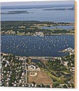 Bristol, Rhode Island Wood Print