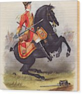 Britain  A Member Of The Second Dragoon Wood Print