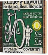 Britains Best Bicycle Wood Print