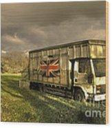 British Cargo Wood Print