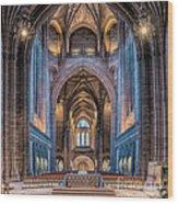 British Cathedral Wood Print