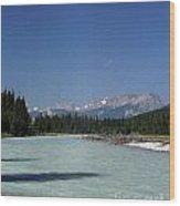 British Columbia Rockies Wood Print