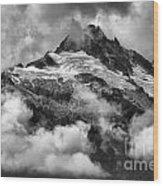 British Columbia Tantalus Mountain Range Wood Print