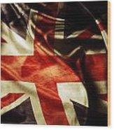 British Flag  Wood Print