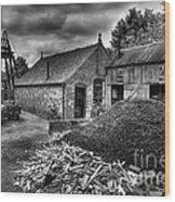 British Mine Wood Print