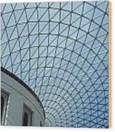 British Museum Wood Print