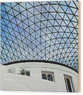 British Museum Wood Print by Stephen Norris