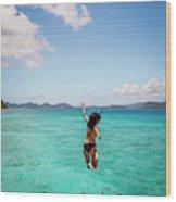 British Virgin Islands, Caribbean Wood Print