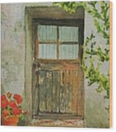 Brittany  Door Wood Print