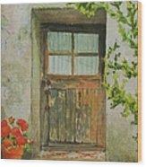 Brittany  Door Wood Print