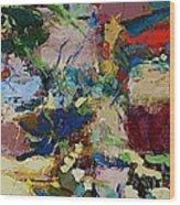Broad At Jackson Wood Print