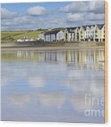 Broad Haven Clouds Wood Print