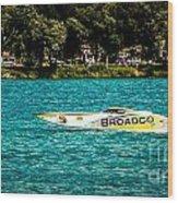 Broadco Property Wood Print