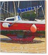 Broadstairs Harbour Wood Print
