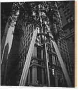 Broadway Nyc Wood Print