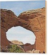Broken Arch Wood Print