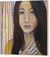 Broken Wood Print by Debi Starr