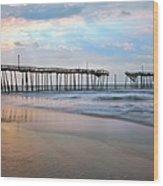 Broken Dreams - Frisco Pier Outer Banks I Wood Print