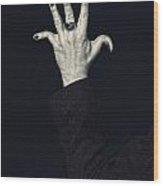 Broken Fingers Wood Print