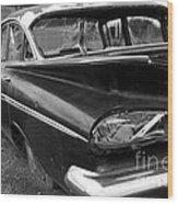 Broken Impala Wood Print