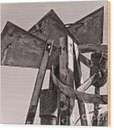 Broken Mill Wood Print