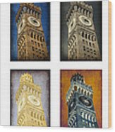 Bromo Seltzer Tower Quad Wood Print