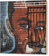 Bronx Graffiti - 2 Wood Print