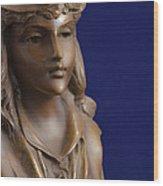 Bronze Lady Wood Print
