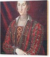 Bronzino's Eleonora Di Toledo Wood Print