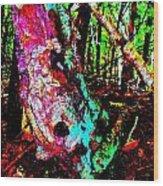 Brook Texture Z 3 Wood Print