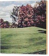 Brookhill Golf Course Wood Print