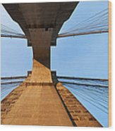 Brooklyn Bridge Abstract Wood Print