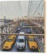 Brooklyn Bridge Wood Print