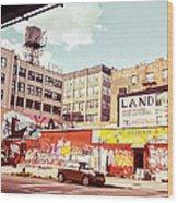 Brooklyn - New York City - Williamsburg Wood Print